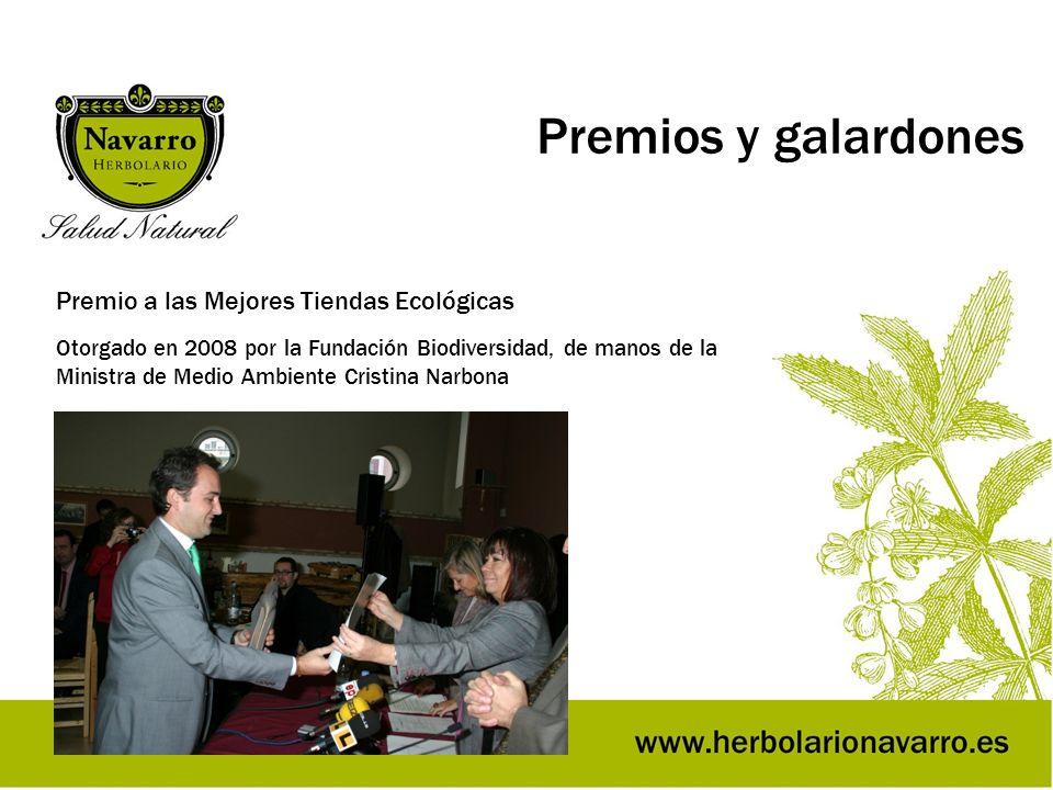 Premios y galardones Premio a las Mejores Tiendas Ecológicas