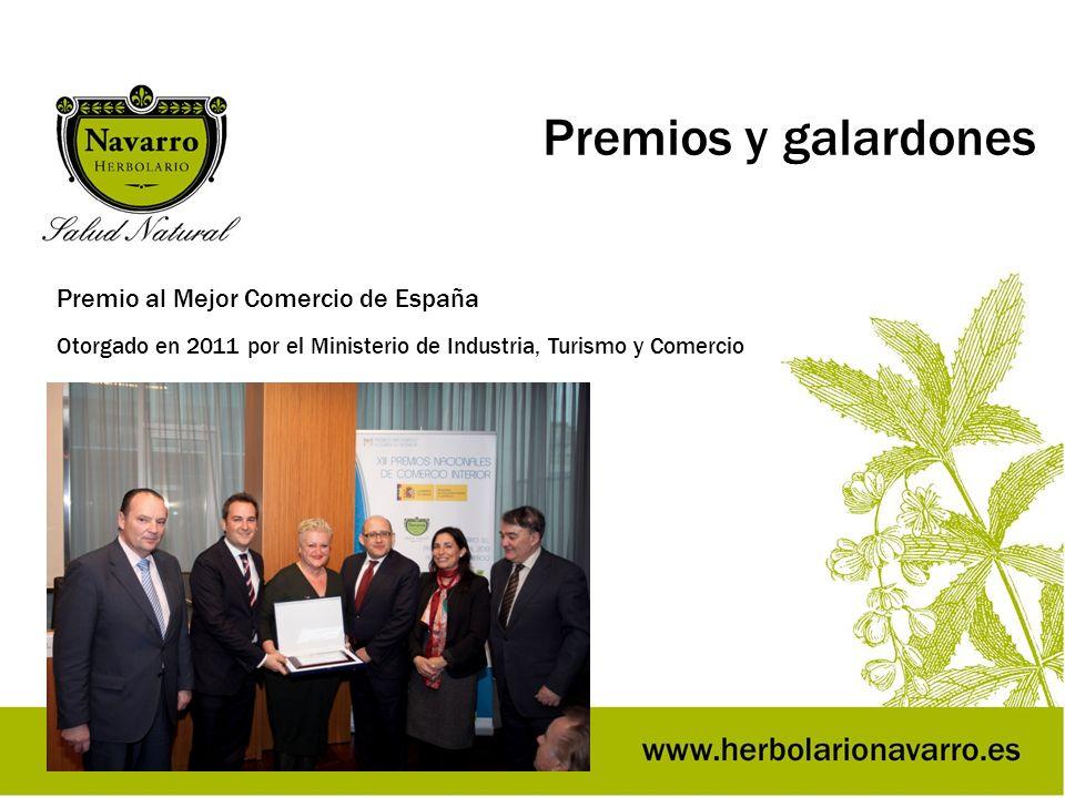 Premios y galardones Premio al Mejor Comercio de España