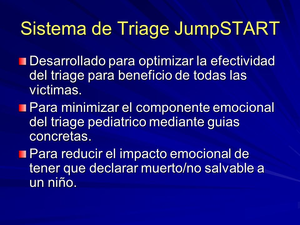 Sistema de Triage JumpSTART