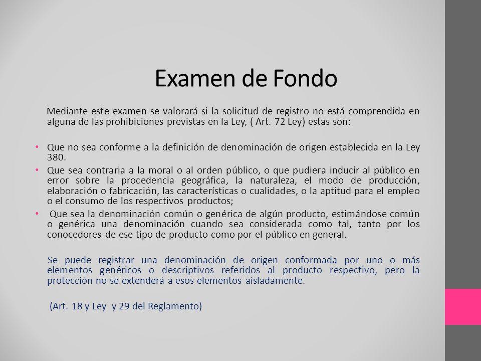 Examen de Fondo