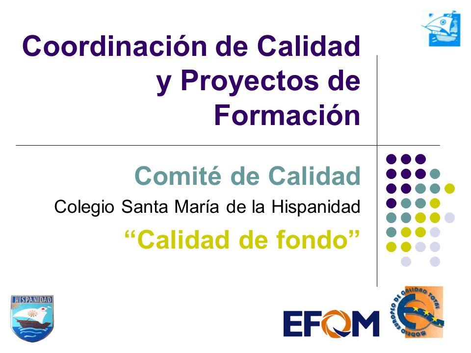 Coordinación de Calidad y Proyectos de Formación