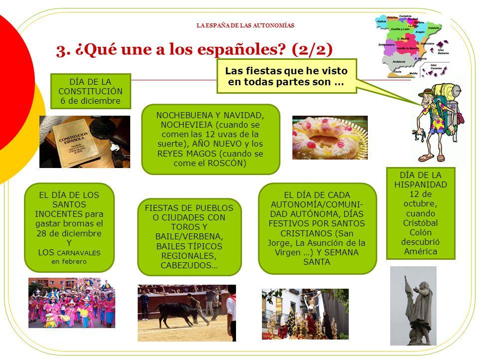 3. ¿Qué une a los españoles (2/2)