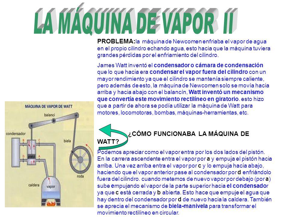 LA MÁQUINA DE VAPOR II