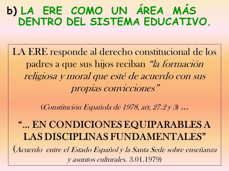 (Constitución Española de 1978, art, 27.2 y 3) …
