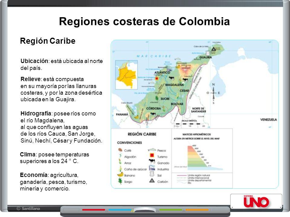 Regiones costeras de Colombia