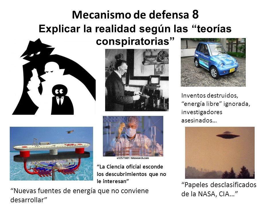 Explicar la realidad según las teorías conspiratorias