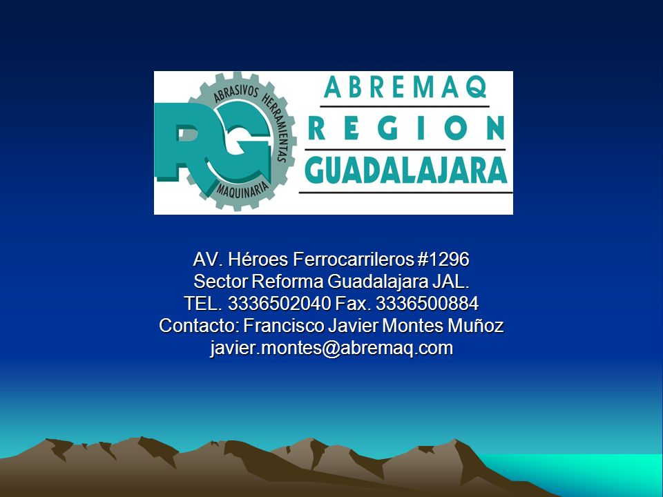 AV. Héroes Ferrocarrileros #1296 Sector Reforma Guadalajara JAL.