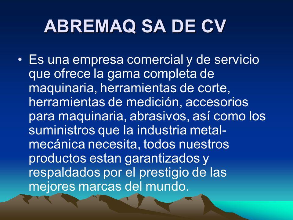 ABREMAQ SA DE CV