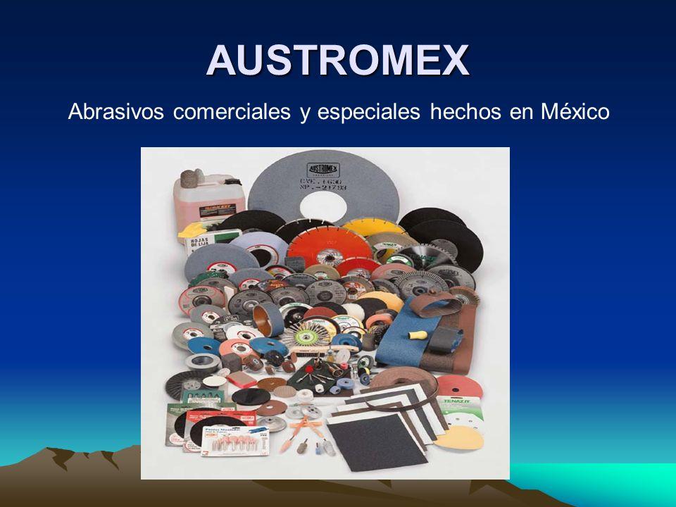 AUSTROMEX Abrasivos comerciales y especiales hechos en México