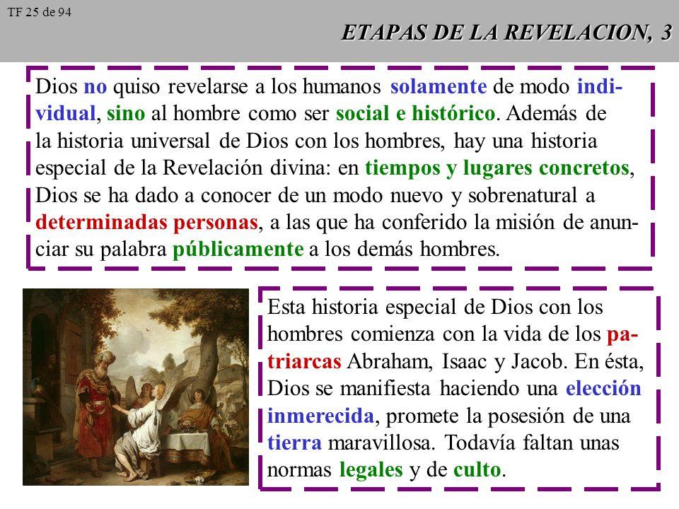 ETAPAS DE LA REVELACION, 3