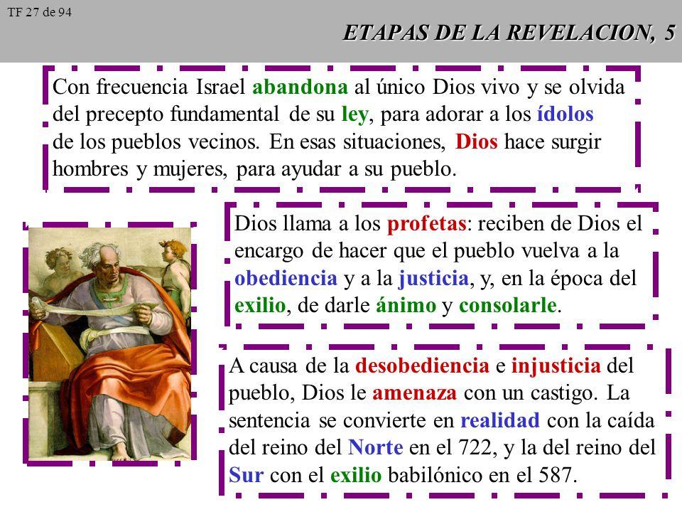 ETAPAS DE LA REVELACION, 5