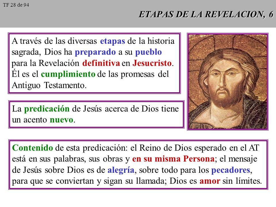 ETAPAS DE LA REVELACION, 6