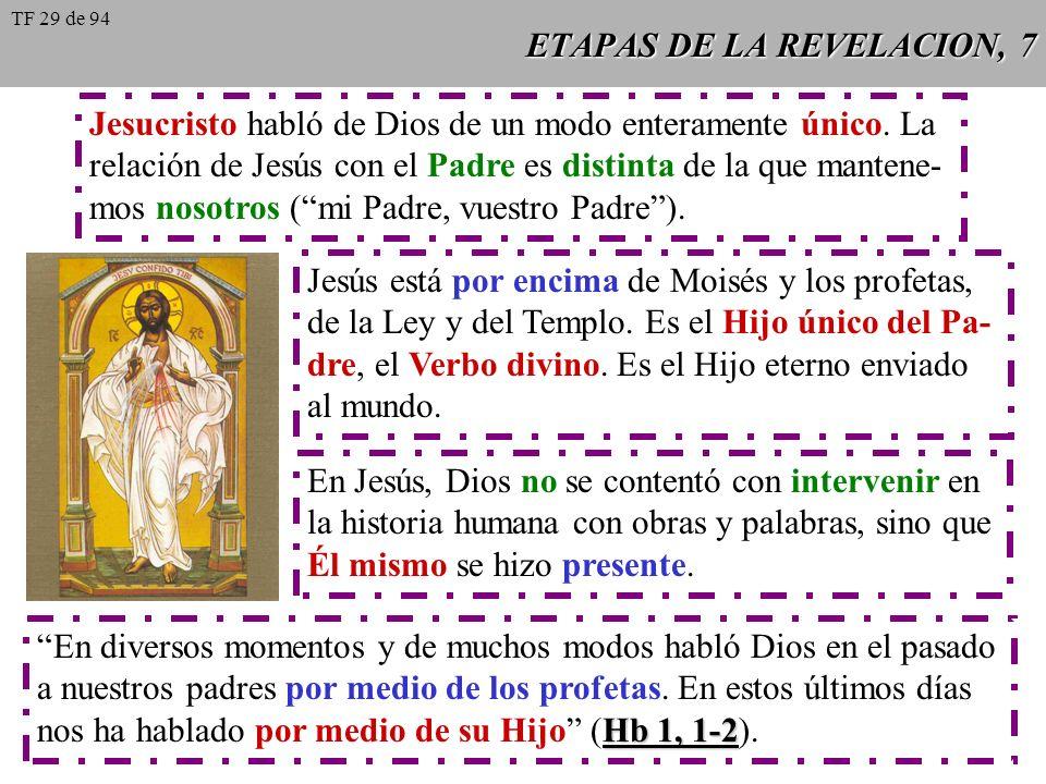 ETAPAS DE LA REVELACION, 7