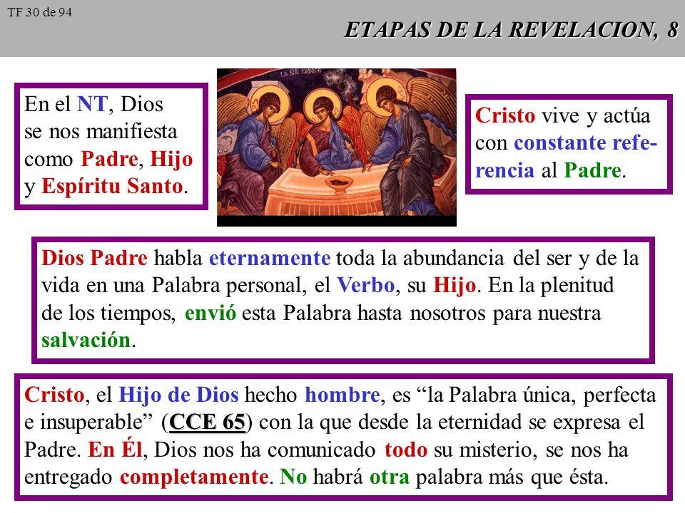 ETAPAS DE LA REVELACION, 8