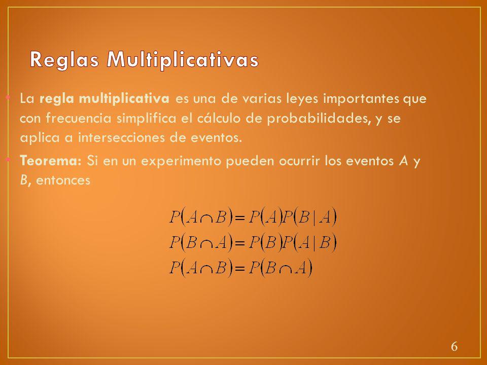 Reglas Multiplicativas