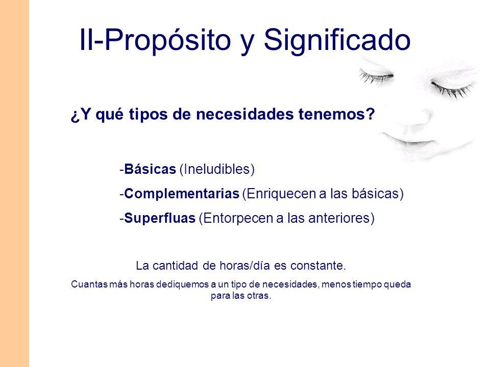 II-Propósito y Significado