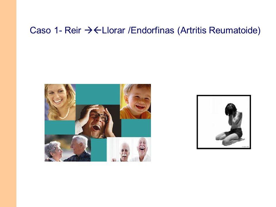 Caso 1- Reir Llorar /Endorfinas (Artritis Reumatoide)