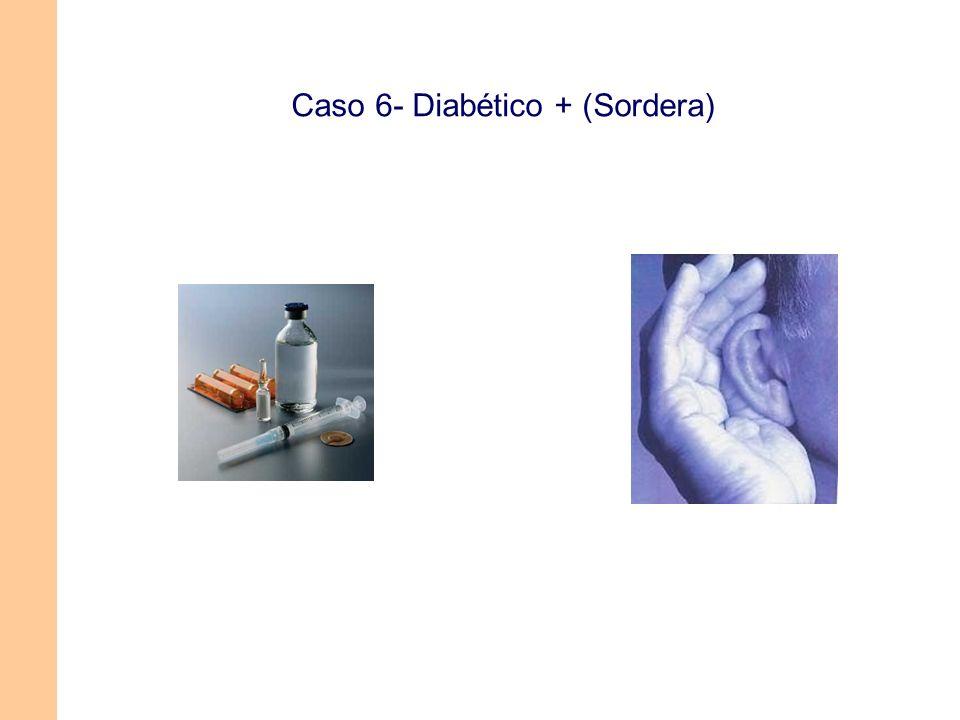 Caso 6- Diabético + (Sordera)