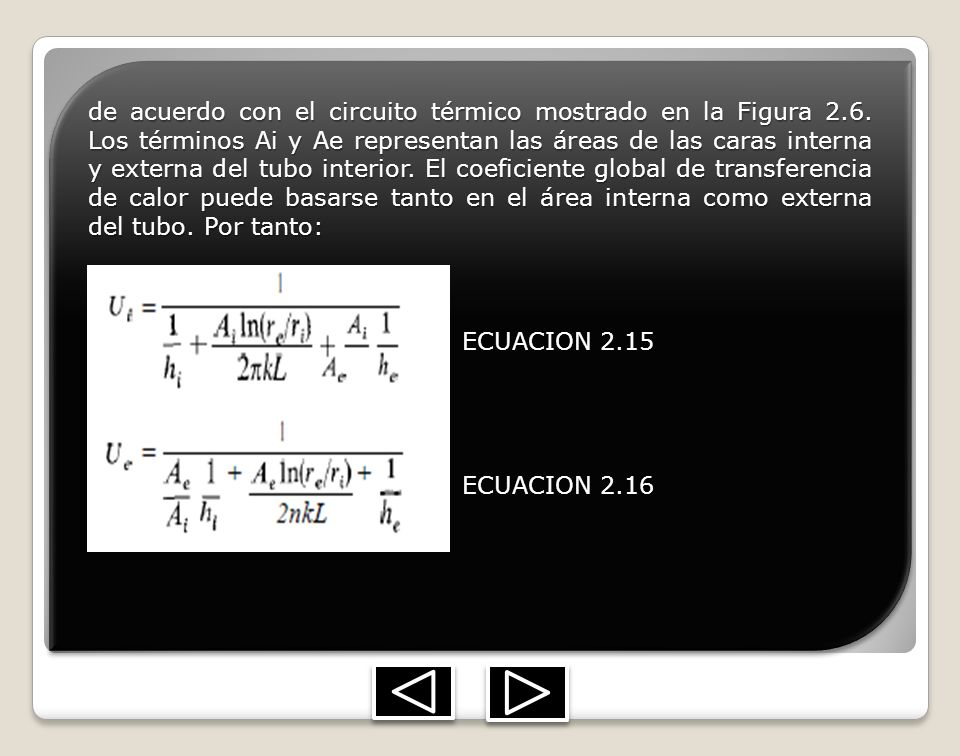 de acuerdo con el circuito térmico mostrado en la Figura 2. 6