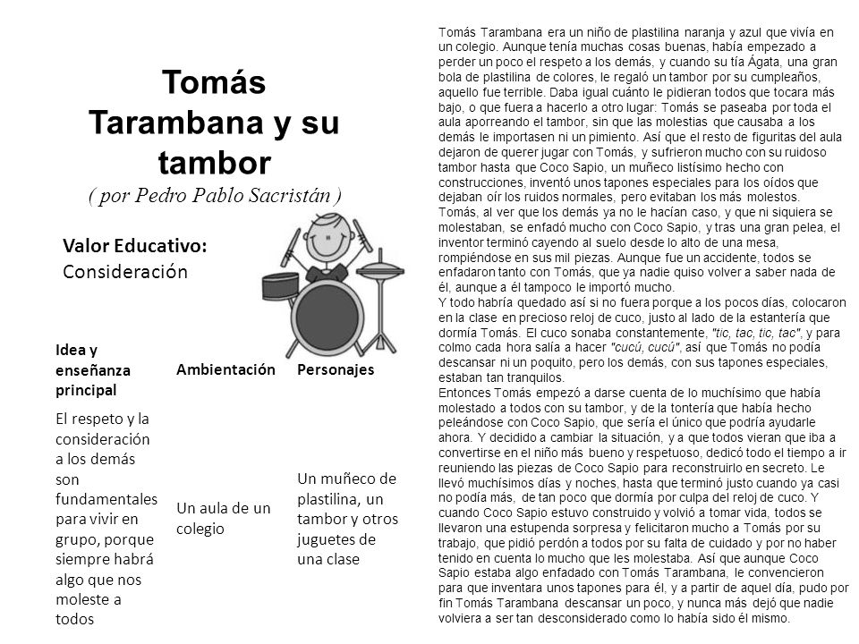 Tomás Tarambana y su tambor