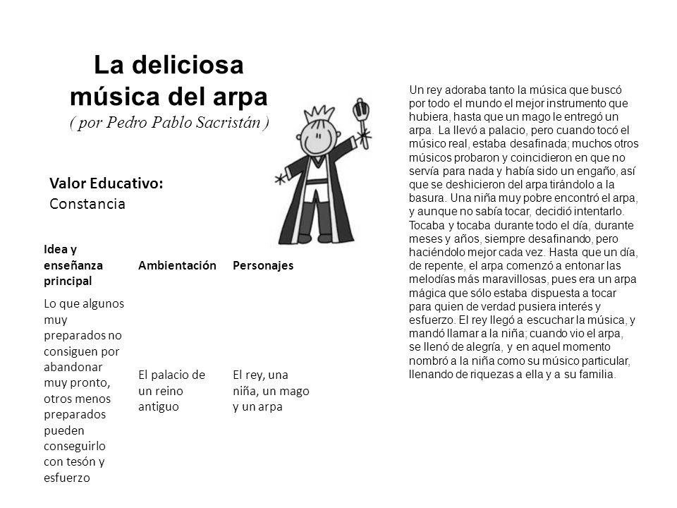 La deliciosa música del arpa