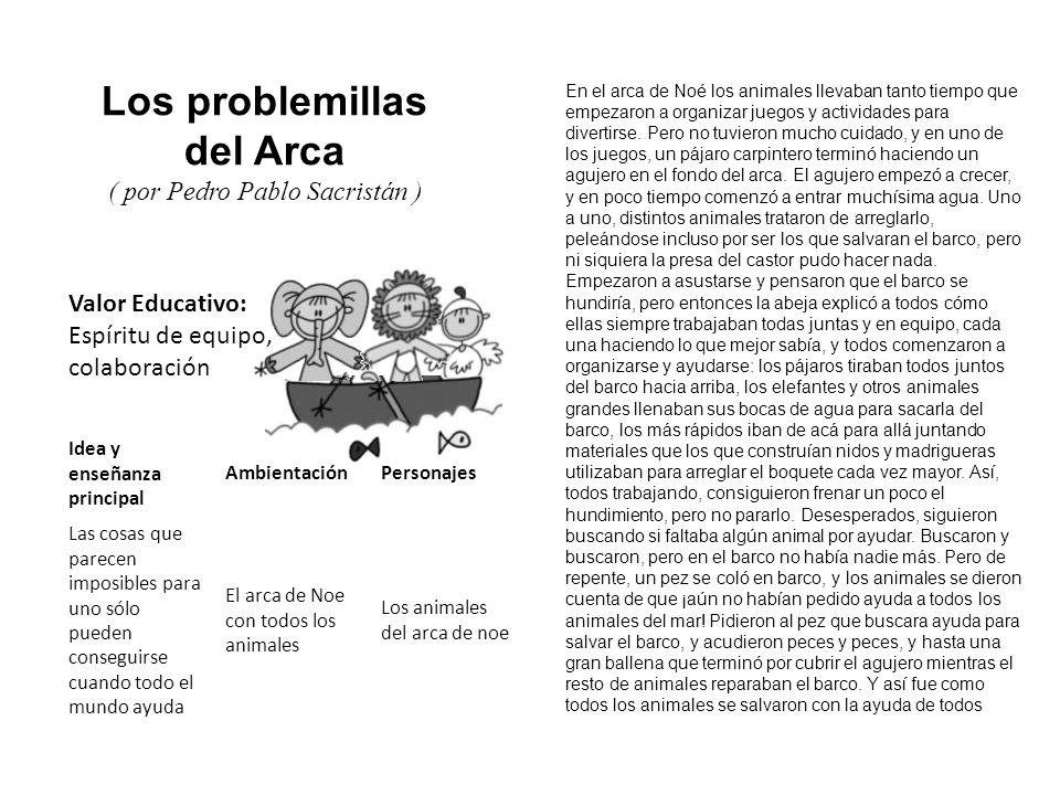 Los problemillas del Arca
