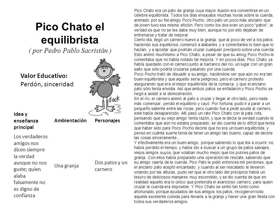 Pico Chato el equilibrista