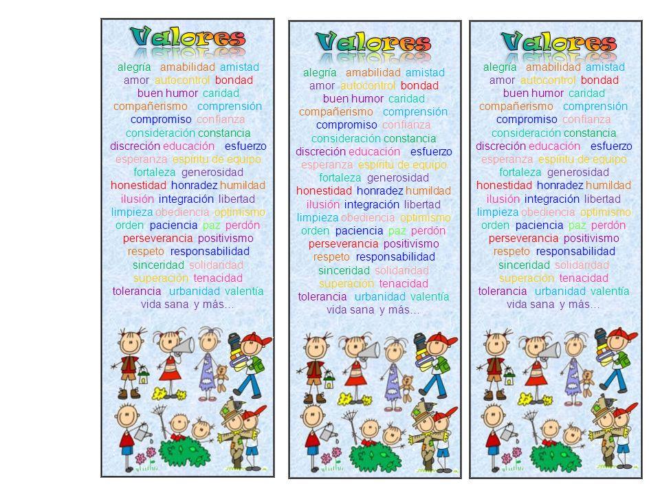Valores Valores Valores