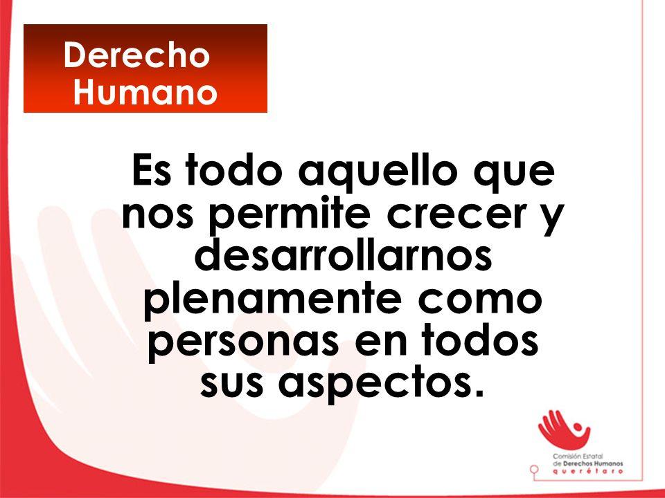 Derecho Humano.
