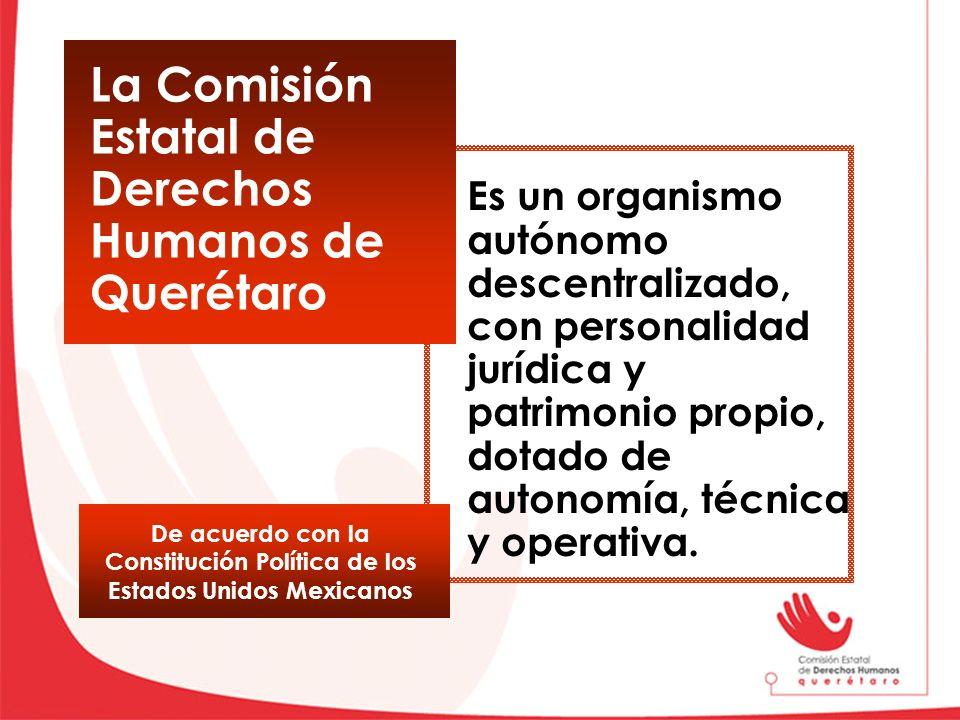La Comisión Estatal de Derechos Humanos de Querétaro