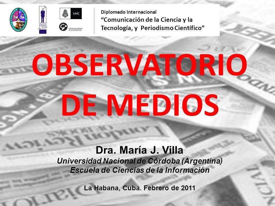 OBSERVATORIO DE MEDIOS