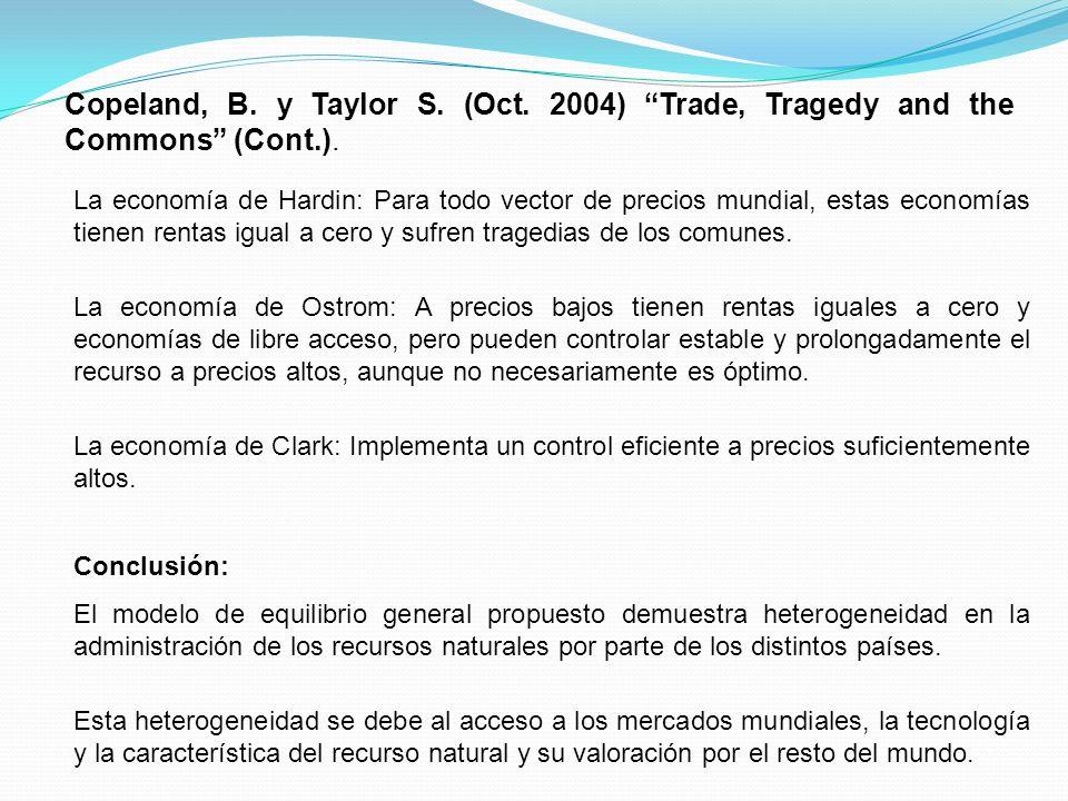 Copeland, B. y Taylor S. (Oct