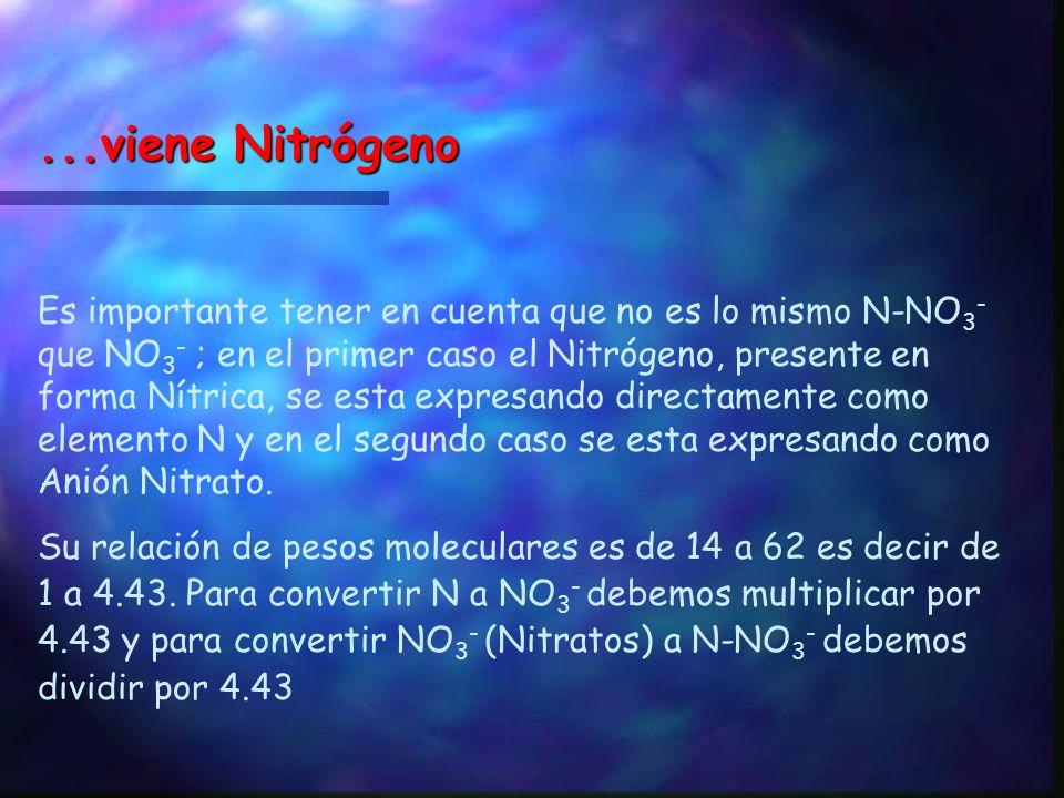 ...viene Nitrógeno
