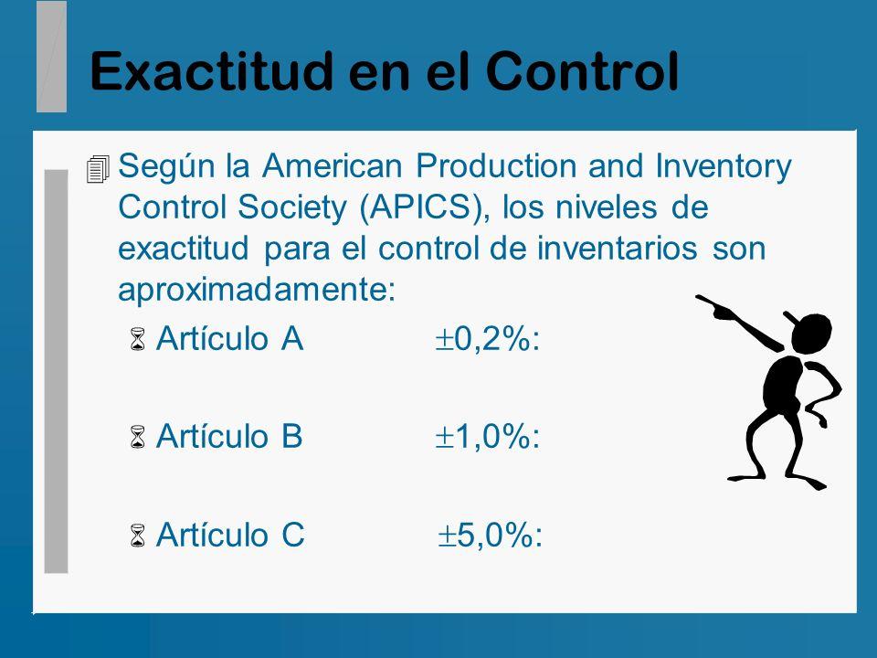 Exactitud en el Control