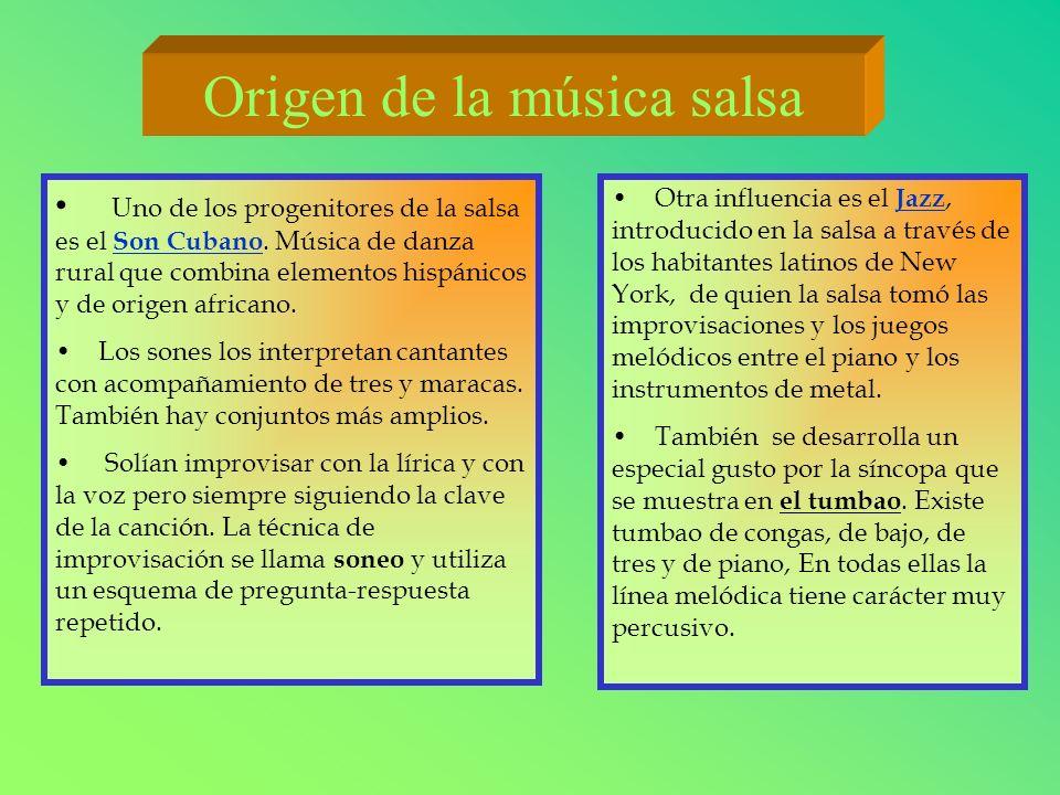 Origen de la música salsa