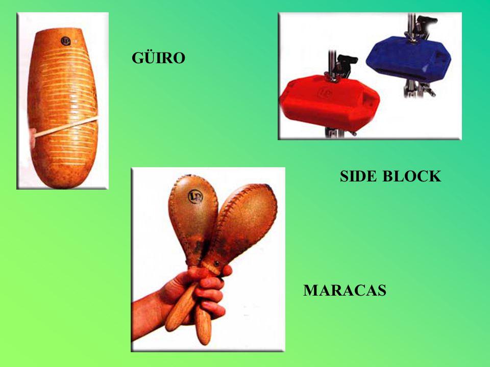 GÜIRO SIDE BLOCK MARACAS