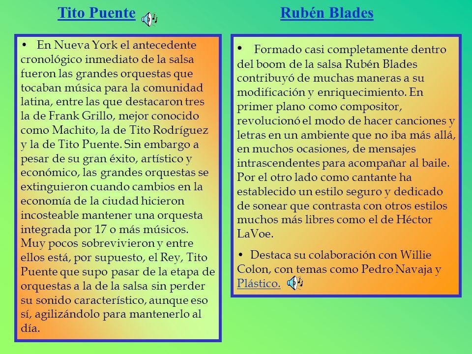 Tito Puente Rubén Blades