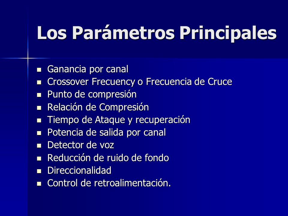 Los Parámetros Principales