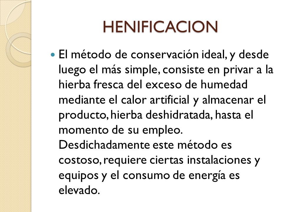 HENIFICACION