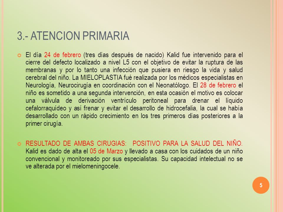 3.- ATENCION PRIMARIA