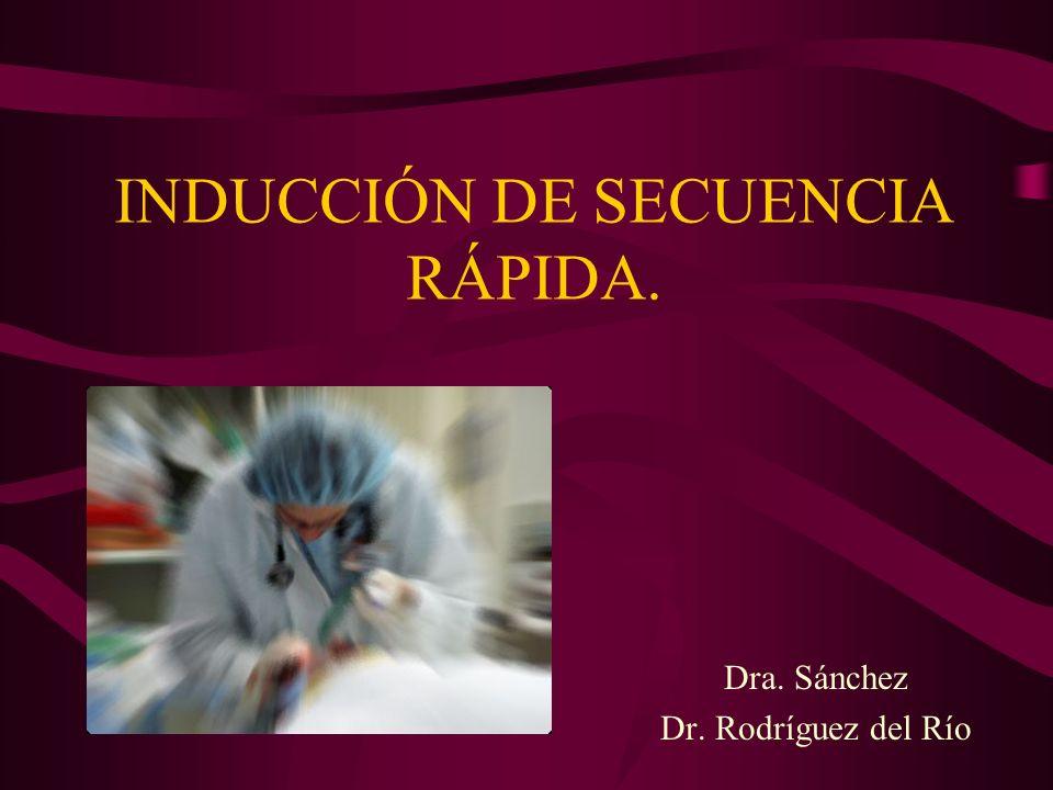 INDUCCIÓN DE SECUENCIA RÁPIDA.