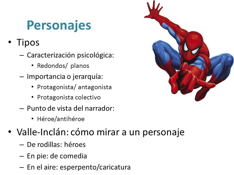 Personajes Tipos Valle-Inclán: cómo mirar a un personaje