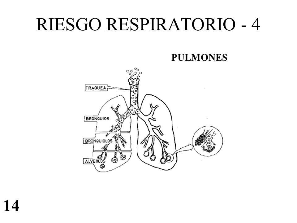 RIESGO RESPIRATORIO - 4 PULMONES 14