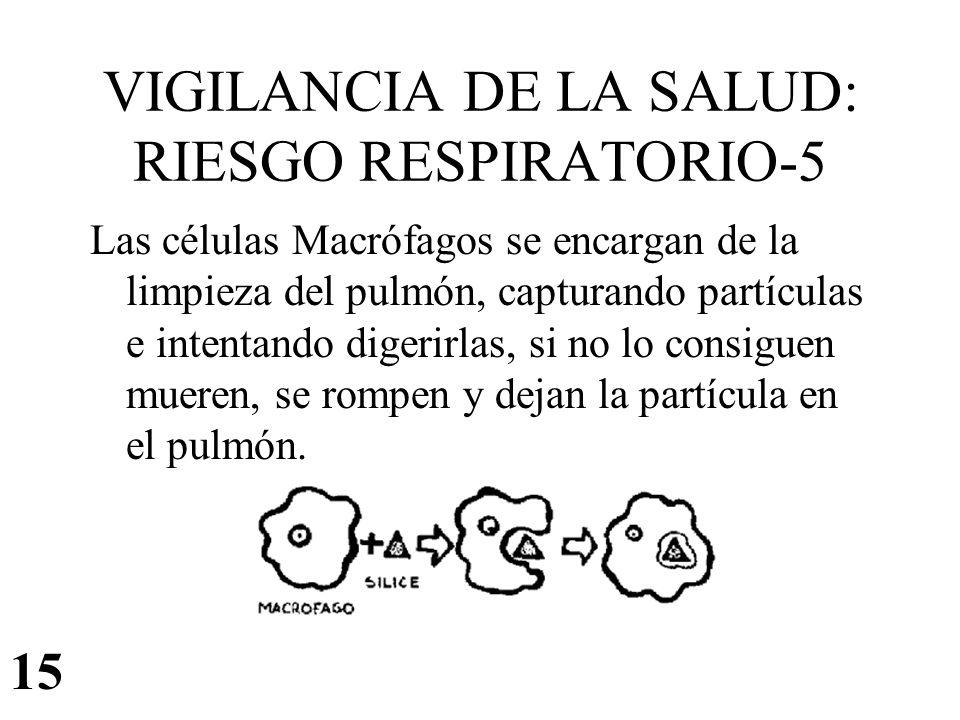 VIGILANCIA DE LA SALUD: RIESGO RESPIRATORIO-5