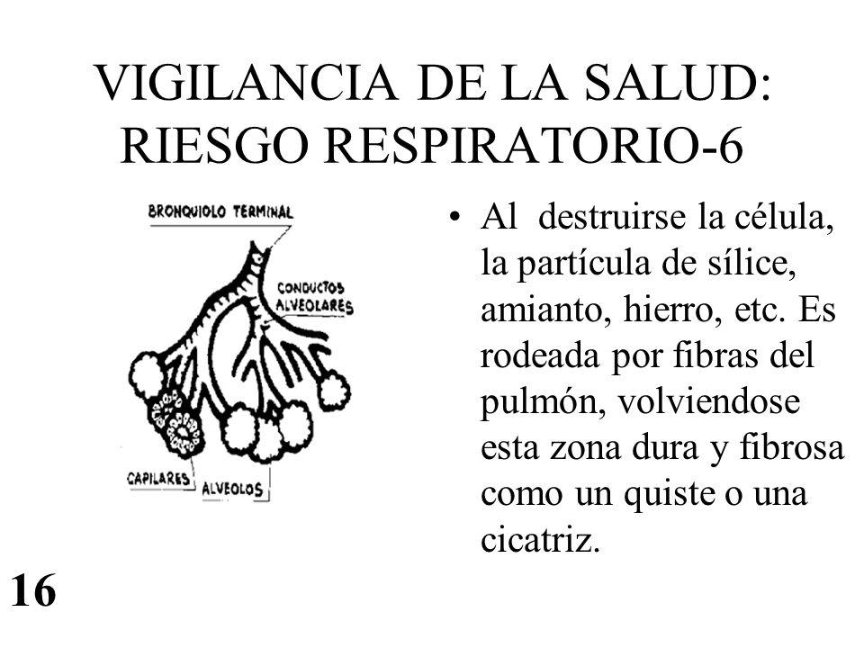 VIGILANCIA DE LA SALUD: RIESGO RESPIRATORIO-6