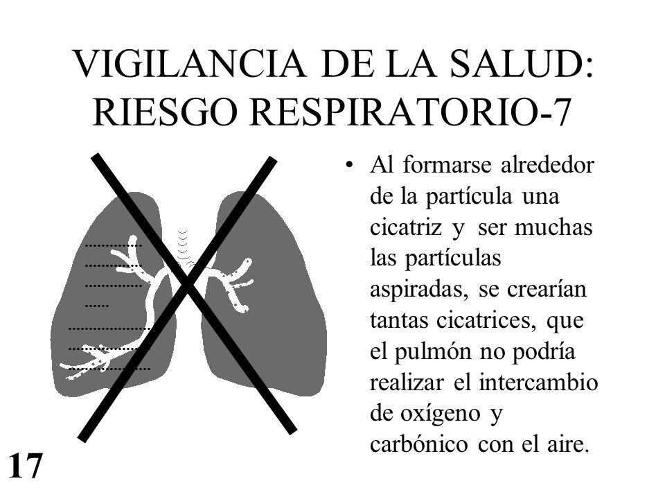 VIGILANCIA DE LA SALUD: RIESGO RESPIRATORIO-7