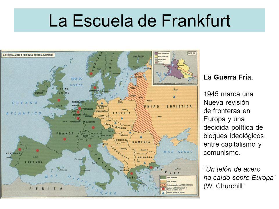La Escuela de Frankfurt