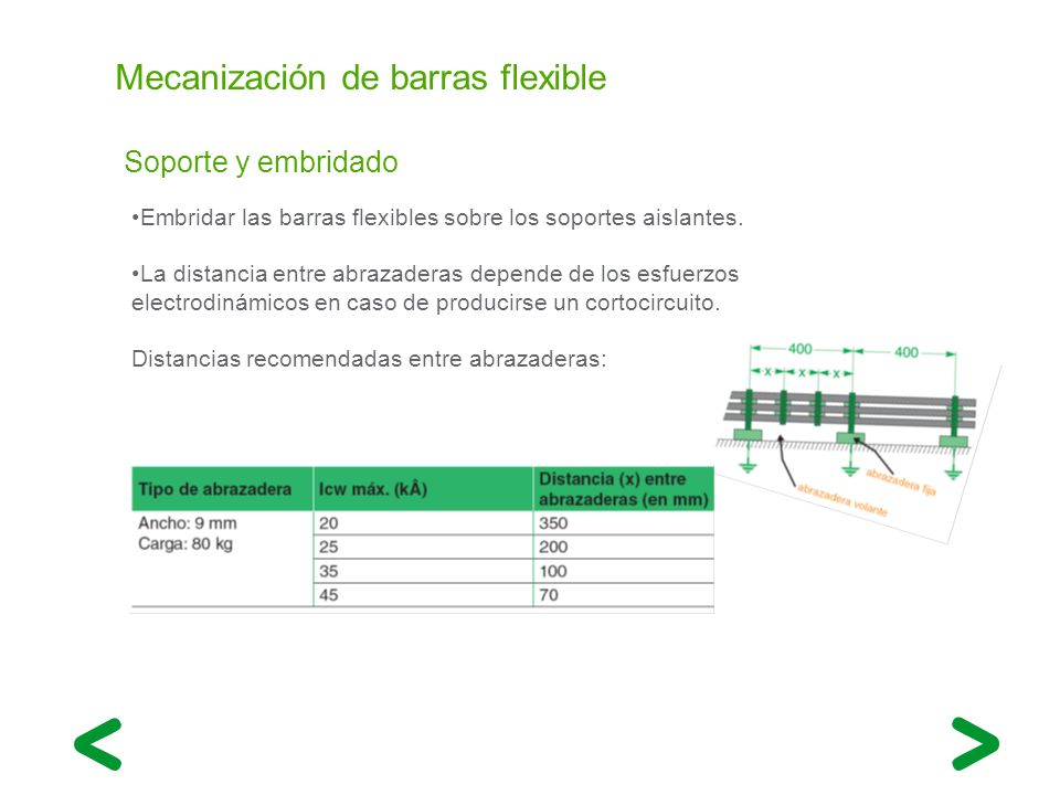 Mecanización de barras flexible