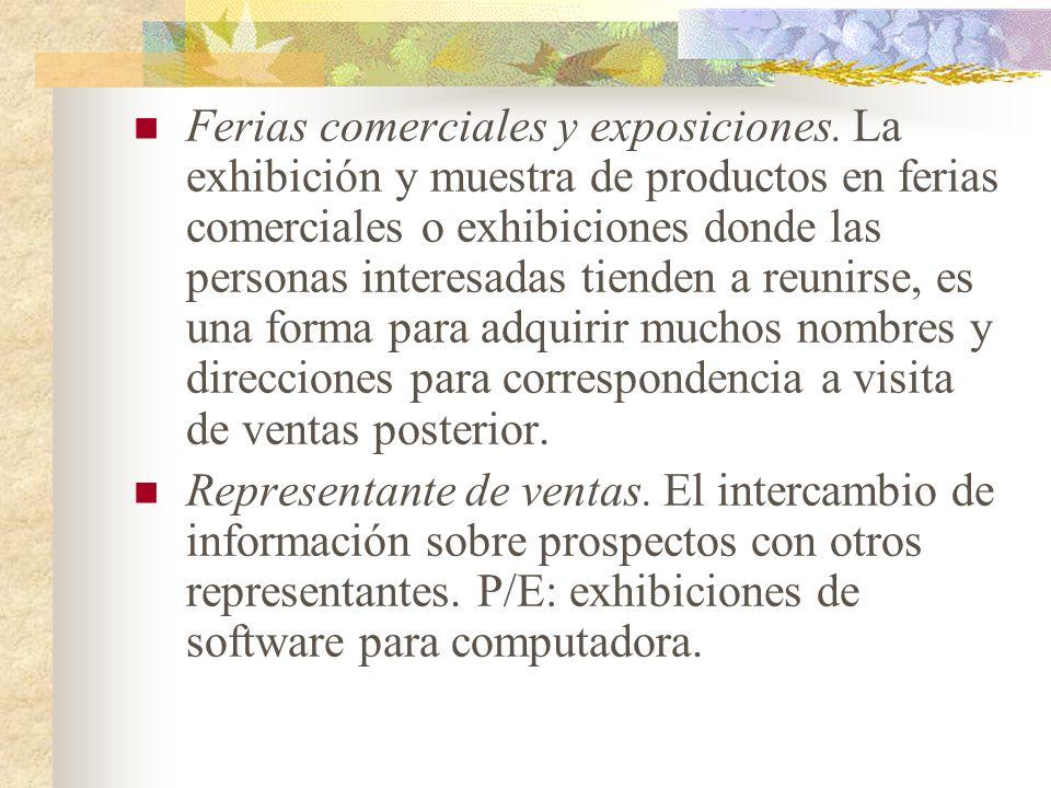 Ferias comerciales y exposiciones