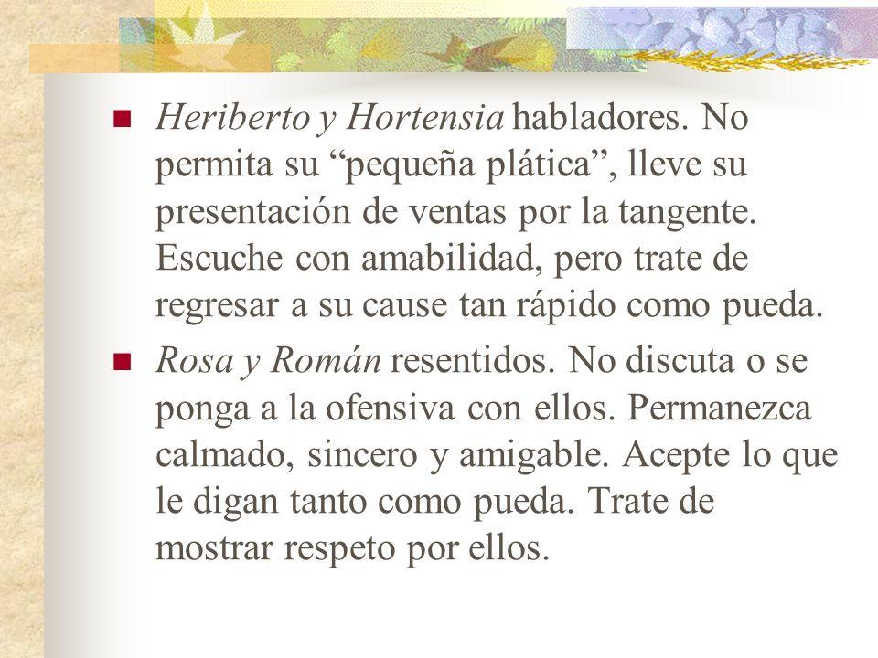 Heriberto y Hortensia habladores